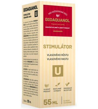 Silvita Bioaquanol U stimulátor vlas.růstu 55 ml
