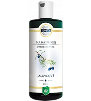 TOPVET PROFESSIONAL Jalovcový masážní olej 200 ml