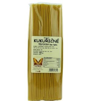 NATURAL JIHLAVA Těstoviny kukuřičné - špagety bez lepku 500 g