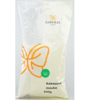 NATURAL JIHLAVA Kokosová mouka jemně mletá bezlepková 500 g