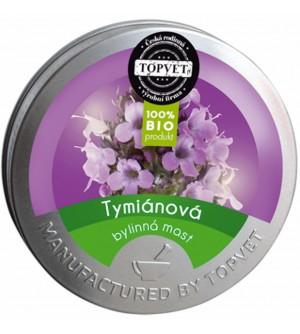 TOPVET Tymiánová mast 50 ml