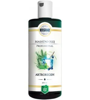 TOPVET Professional masážní olej Artroregen 200 ml
