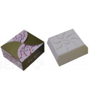 Přírodní kosmetické mýdlo originální dámské s arganovým a pupalkovým olejem 120 g