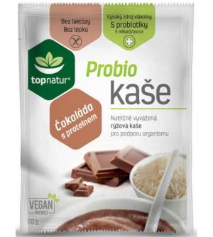 TOPNATUR Probio bezlepková kaše čokoláda s proteinem 60 g