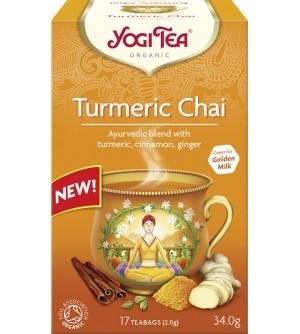 Yogi Tea Bio čaj Turmeric chai 17 x 2 g