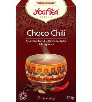 Yogi Tea Bio čaj Choco Chili 17 x 2,2 g