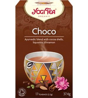 Yogi Tea Bio čaj Choco 17 x 2,2 g