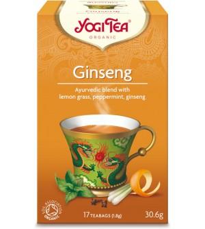 Yogi Tea Bio čaj Ženšen 17 x 1,8 g