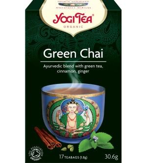 Yogi Tea Bio čaj Zelený chai 17 x 1,8 g