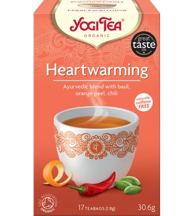 Yogi Tea Bio čaj Hřejivý 17 x 1,8 g