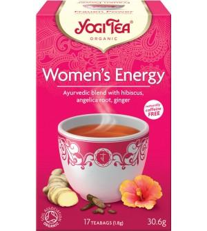 Yogi Tea Bio čaj Energie ženy 17 x 1,8 g