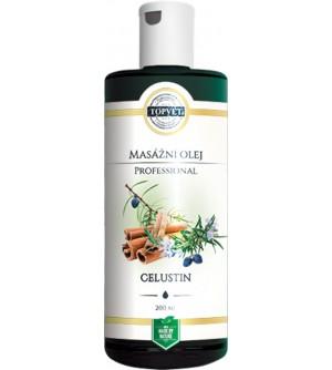 TOPVET Celustin masážní olej 200 ml