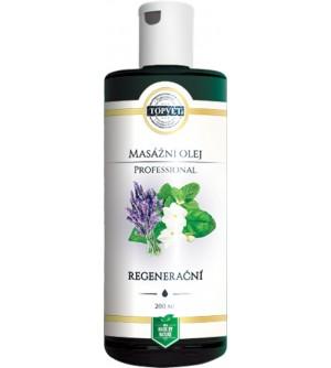 TOPVET Regenerační masážní olej 200 ml