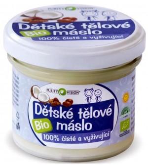 PURITY VISION Dětské tělové máslo BIO 100 ml