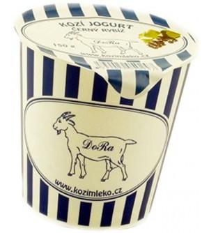 DoRa Kozí jogurt černý rybíz 150 g