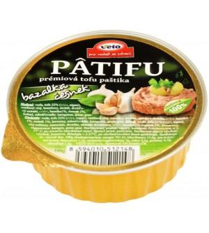 VETO ECO Paštika PATIFU bazalka a česnek 100 g