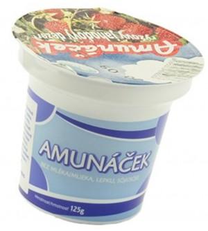 Amunak Amunáček rýžový jahodový dezert 125 g