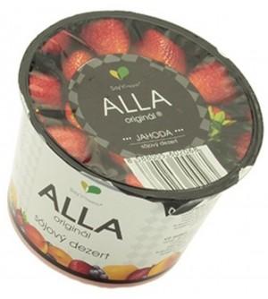 Alla sójový dezert jahoda 125 g