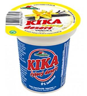 Kika Dezert rýžový vanilka 125 g