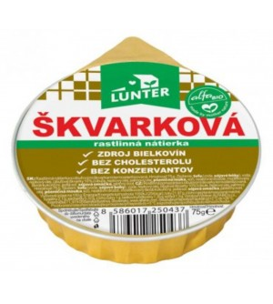 LUNTER Škvarková rostlinná pomazánka 75 g