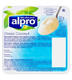 Alpro Classic Coconut sójový dezert 125 g