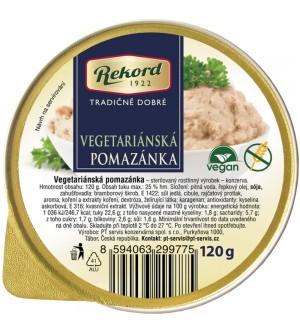 Rekord Vegetariánská pomazánka s pikantní feferonkou 120 g