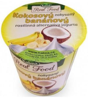 Kalma Kokosový banánový zakysaný jogurt 125 g