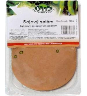 Kalma Sójový salám šunkový se zeleným pepřem 100 g