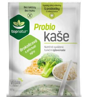 Topnatur Probio bezlepková kaše brokolicová s příchutí sýru 60 g