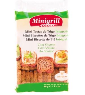 Minigrill Pšeničné celozrnné suchary 90 g