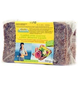 Mestemacher trvanlivý chléb vícezrnný 500 g