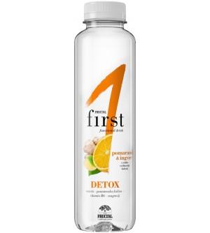 Fructal Funkční voda Detox pomeranč&zázvor 500 ml