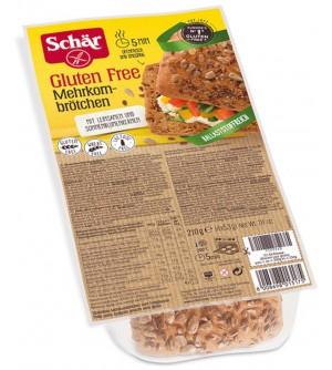 Schar chléb bezlepkový Mehrkornbrotchen 210 g