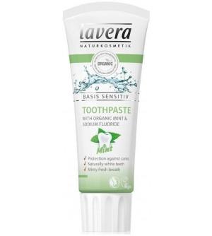 Lavera Basis Mátová zubní pasta 75 ml