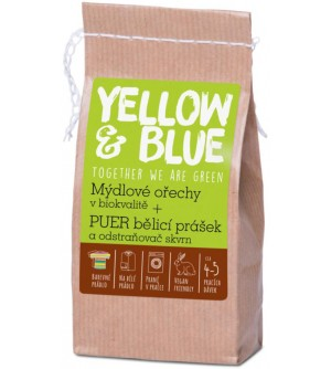 Yellow and Blue Bio mýdlové ořechy 250 g