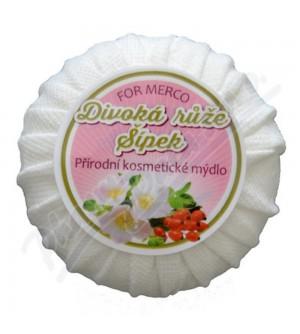 FOR MERCO Přírodní kosmetické mýdlo DIVOKÁ RŮŽE & ŠÍPEK 100 g