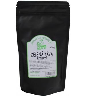 ZDRAVÍ Z PŘÍRODY Zelená káva zrnková 200 g