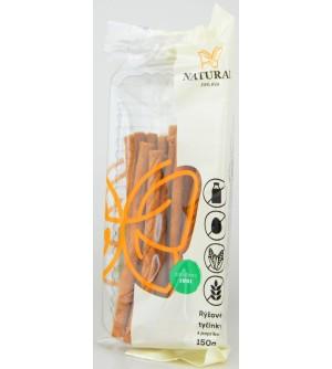 NATURAL JIHLAVA Rýžové tyčinky s paprikou 150 g