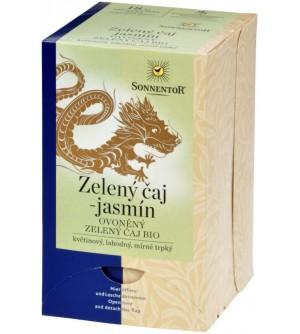 SONNENTOR Čaj Zelený s jasmínem 27 g