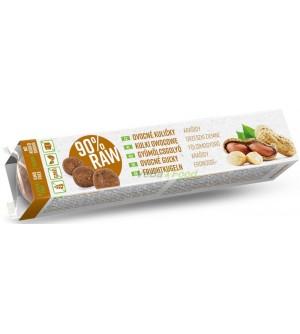 VOS RAW Ovocné kuličky arašídy 40 g