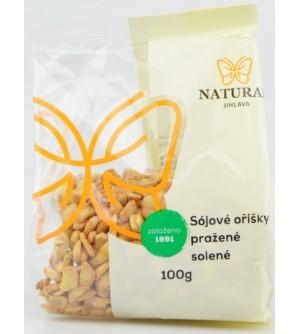 NATURAL JIHLAVA Oříšky sójové pražené solené 100 g