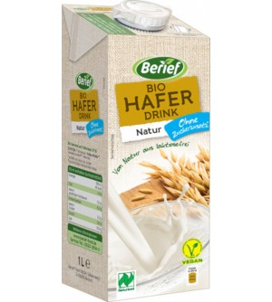 BERIEF Bio Ovesný drink Natur 1 l