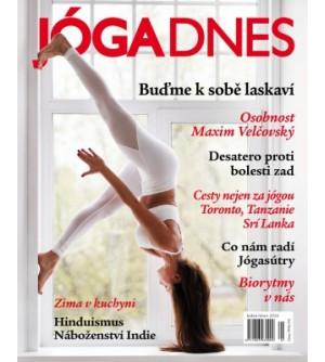 Časopis Jóga Dnes 6/2018 listopad-prosinec