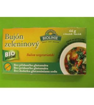 Bilolinie Bujón zeleninový BIO bezlepkový 66 g