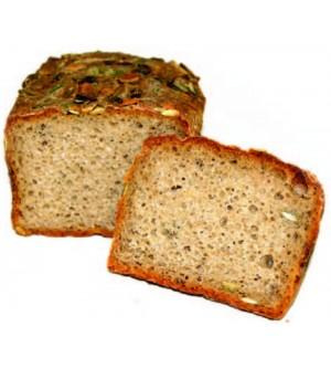 Zrnko Chléb žitný kváskový dýňový 350 g
