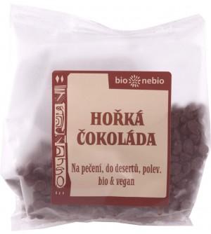 Bio nebio Bio pecičky z hořké čokolády 100 g