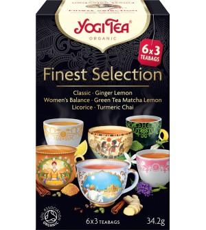 YOGI TEA Bio Výběr nejlepších Yogi Tea 34,2 g