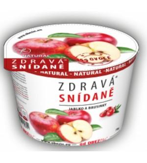 Obezin Zdravá snídaně bezlepková Jablko, brusinka 78 g