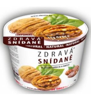 Obezin Zdravá snídaně bezlepková Vlašský ořech, datle 78 g