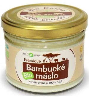 PURITY VISION Bambucké máslo BIO 350 ml